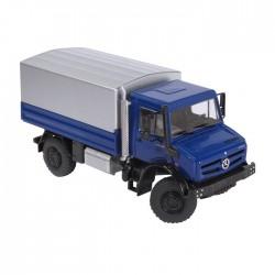 MERCEDES BENZ UNIMOG U5000 biancolu - Camion - 1:50
