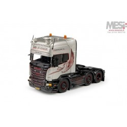 Scania R-Streamline Topline 6x2 - Silver Griffin - Motrice - 1:50