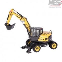 YANMAR B110W - Escavatore Gommato - 1:50 - NZG - 974